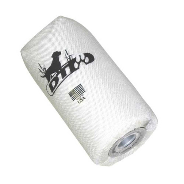 DT Systems Super Pro Series Feather Weight Launcher Dummy, Nylon Bright White