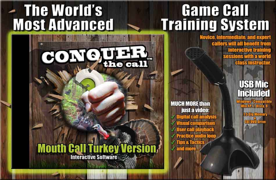 Conquer the Call Training Software, Mouth Call Turkey Edition_6.jpg