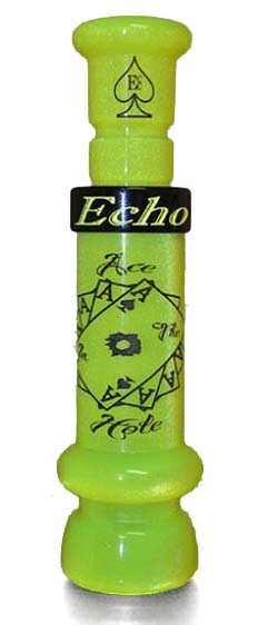 "Echo Calls ""Ace in the Hole"" Duck Call_Chartreuse.jpg"