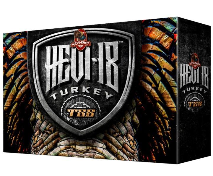 "Hevi-Shot Hevi 18 TSS Turkey Ammunition 12 Gauge 3"" 2 oz 1250 FPS"