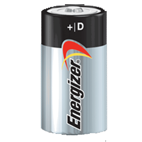 Energizer Max-D Batteries - 4 Pack