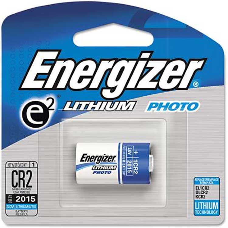 Energizer e2 Lithium Photo Battery, CR2, 3Volt, 1 Battery/Pack