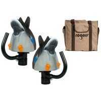 Lucky Duck Agitator 2 Pack Drakes With Bag