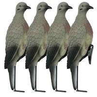 Lucky Duck Clip On Doves With Stake 4 Pack