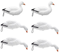 Final Approach Live Full Body Snow Goose Decoys