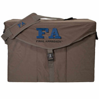 Final Approach Structured Silhouette Decoy Bag