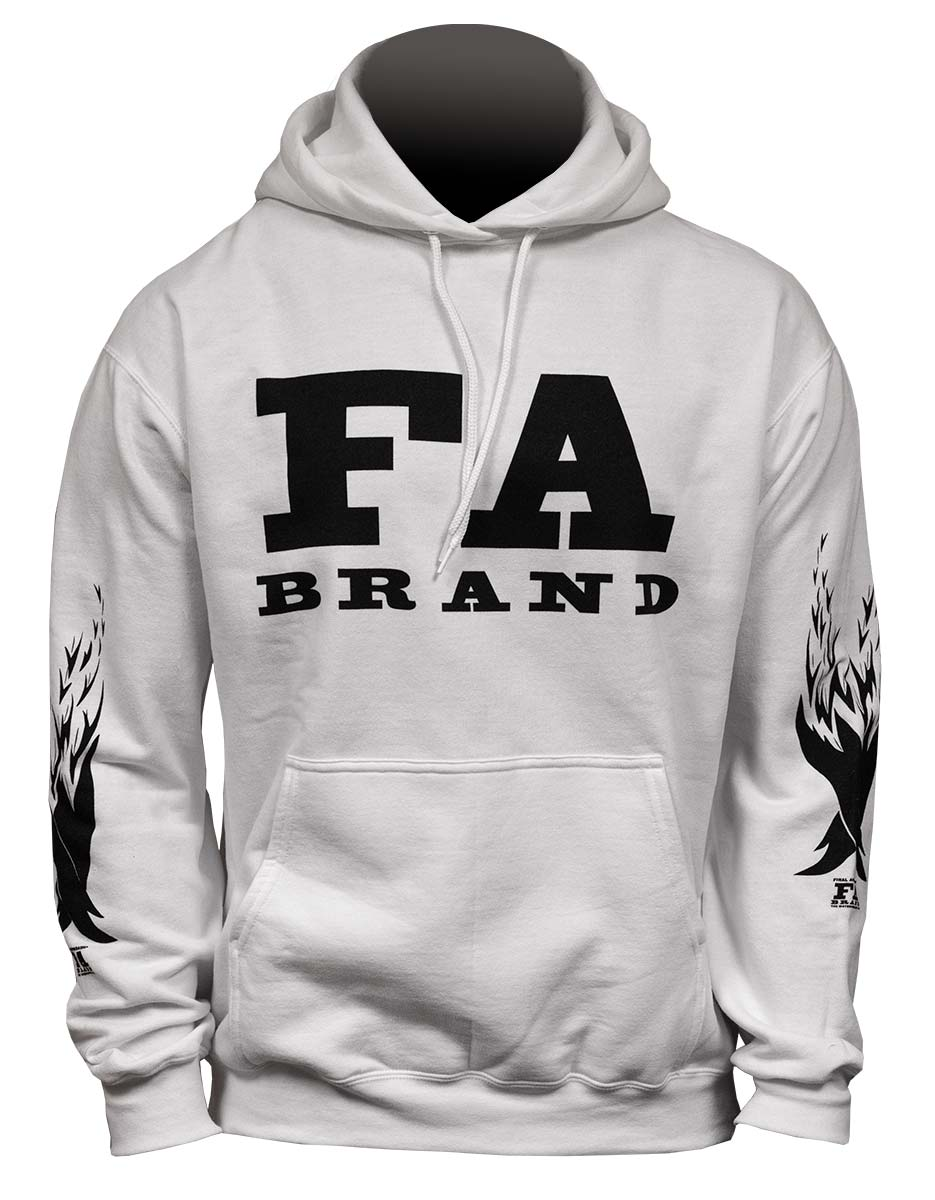 Final Approach Hoodie, White