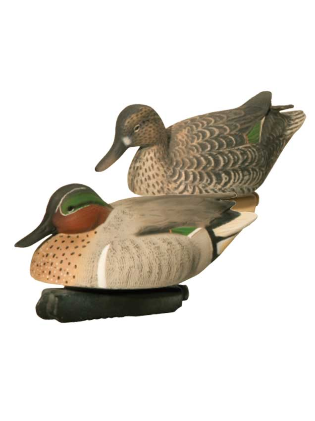 Final Approach Gunners HD Green Winged Teal, 6 Pack