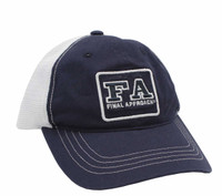 Final Approach Unstructured 6 Panel Meshback Hat