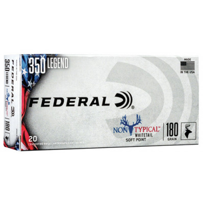 Federal Non Typical .350 Legend 180 gr Bullet - Box of 20