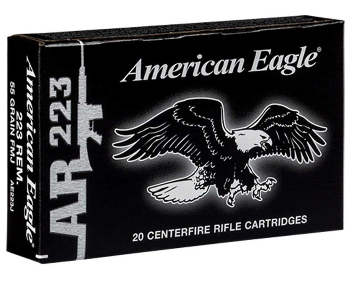 Federal American Eagle 223 Rem. 55 Gr 3240FPS Full Metal Jacket Boat-Tail, Case of 500_1.jpg