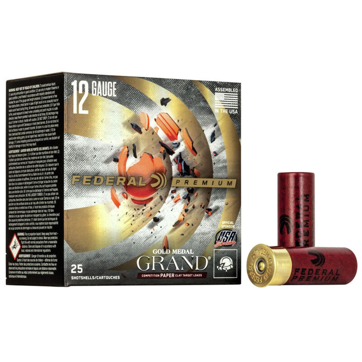 "Federal Gold Medal Grand Paper Target Shotshells, 12 GA 2 3/4"" 1 1/8oz 1200FPS_1.jpg"
