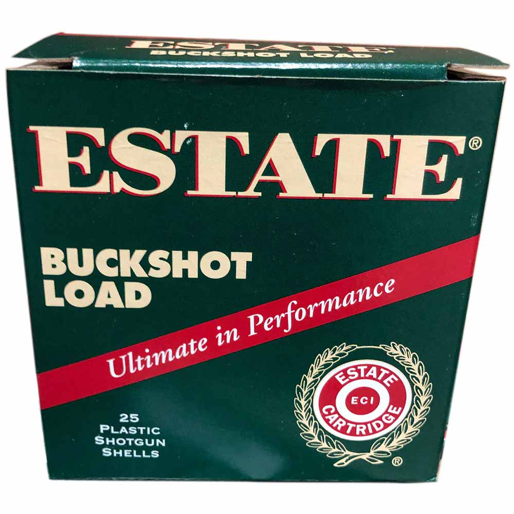 "Estate 00 Buckshot, 12 GA 2 3/4"" 1325FPS, Box of 25_1.jpg"