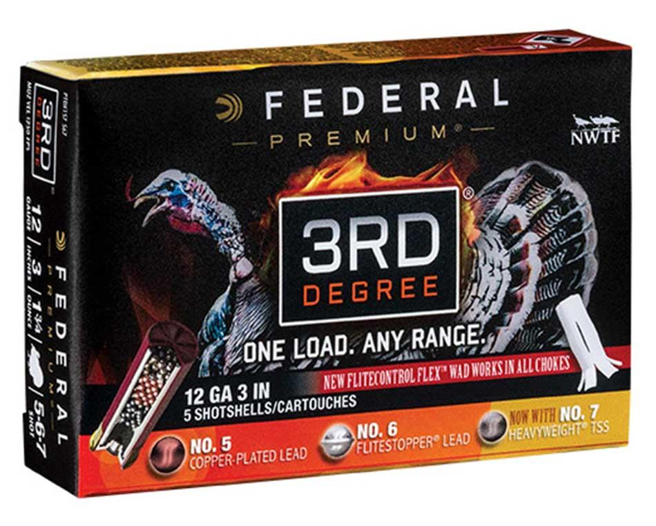 Federal Premium 3rd Degree With Heavyweight TSS, 12 Gauge 3 inch
