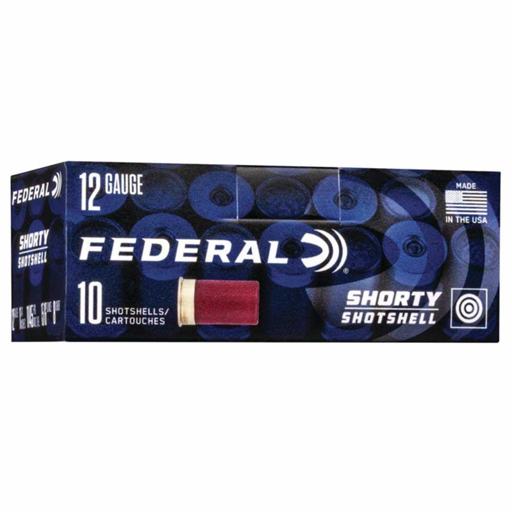 "Federal Shorty Shotgun Ammunition 12 GA 1 3/4"" Buck Shot, Box of 10_1.jpg"