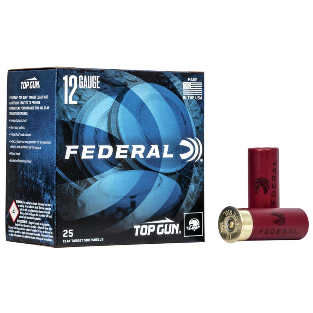 "Federal Top Gun Target Loads, 12 GA 2 3/4"" 7/8 oz 1200FPS_1.jpg"