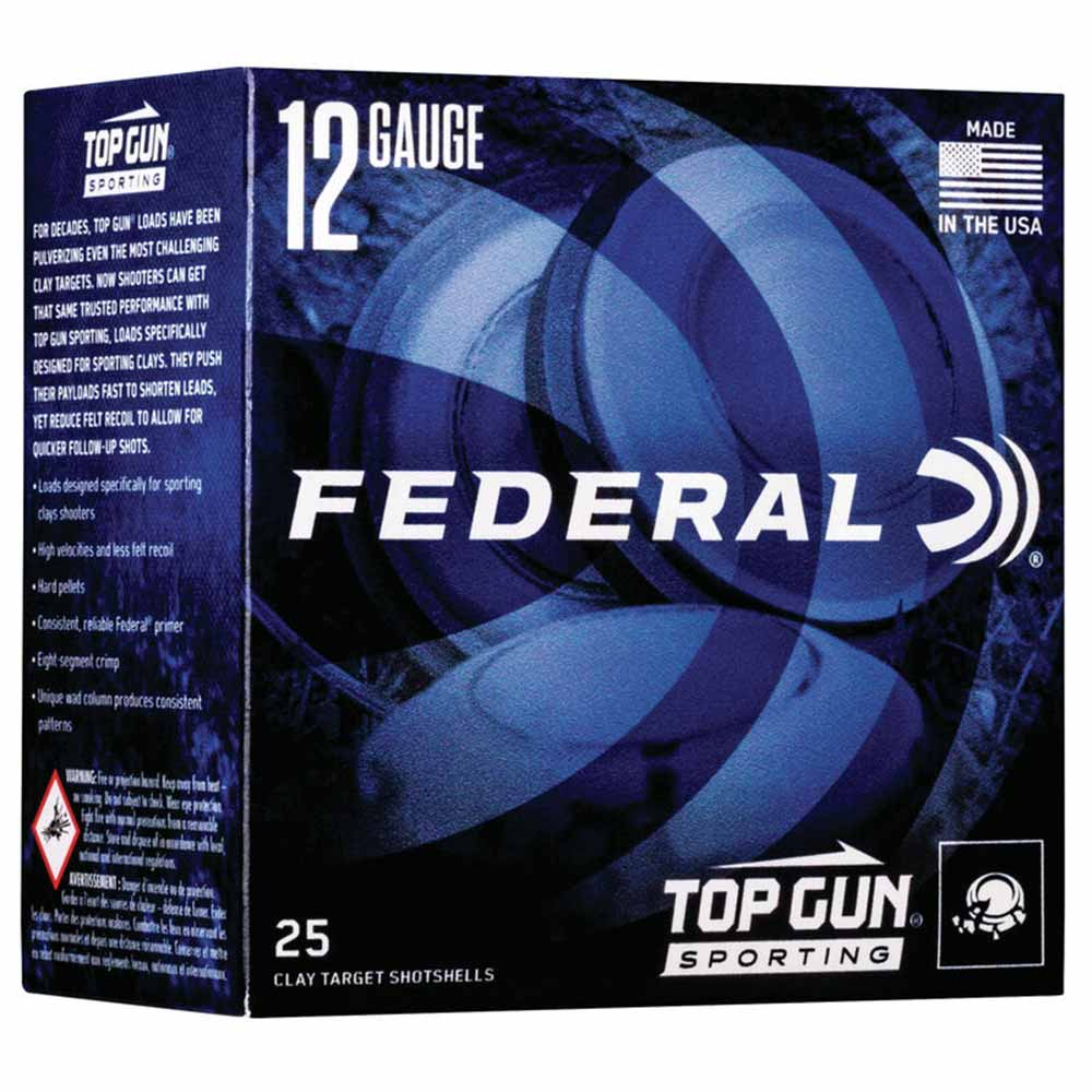 "Federal Top Gun Sporting Target Loads 12 GA 2 3/4"" 1 oz 1300 FPS_1.jpg"