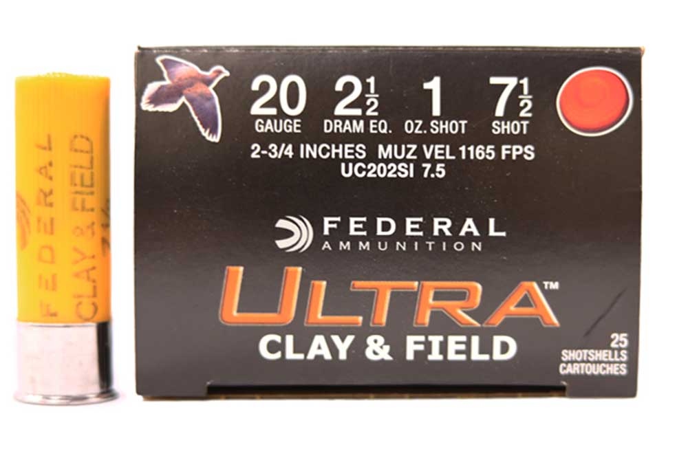 "Federal Ultra Clay & Field Shotshells, 20GA 2 3/4"" 1 oz_1.jpg"