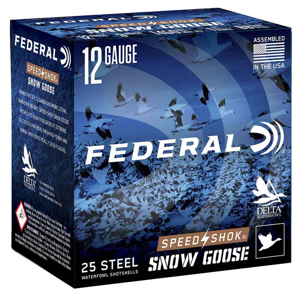 "Federal Premium Speed Shok Snow Goose 12 Gauge 3"" 1 1/4oz 1450FPS"