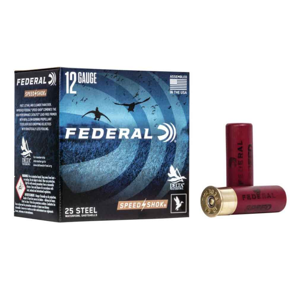"Federal Premium NEW Speed Shok 12 Gauge 3"" 1 1/4oz 1450FPS"