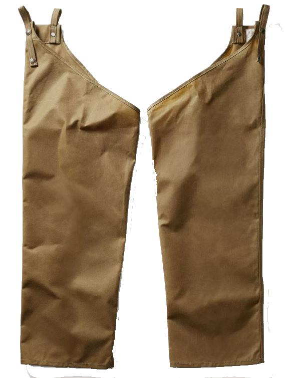 Filson Single Tin Chaps Dark Tan - Husky Fit