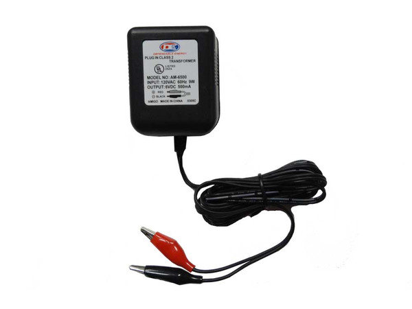 6V Battery Charger with alligator clips