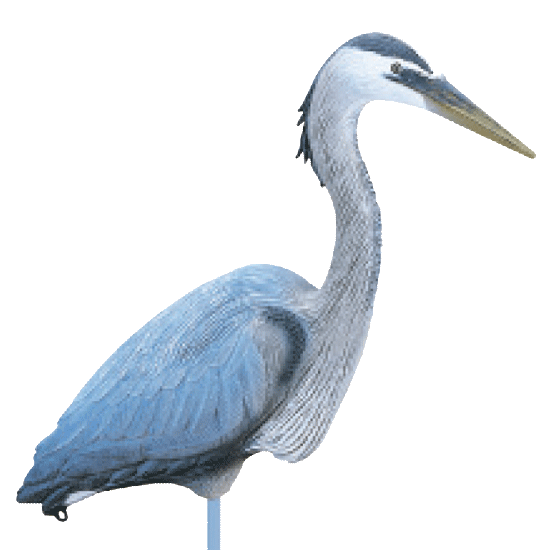 Flambeau Great Blue Heron Confidence Decoy