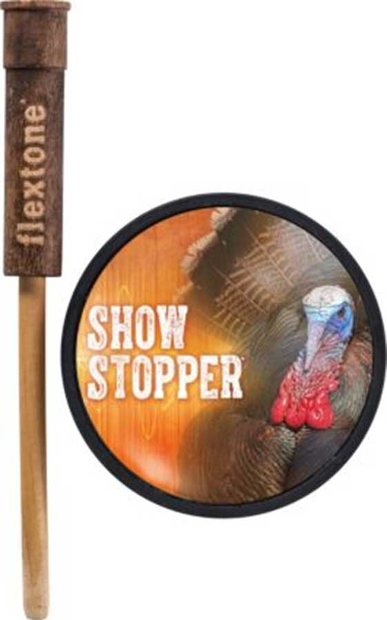 Flextone Show Stopper Glass Turkey Pot Call