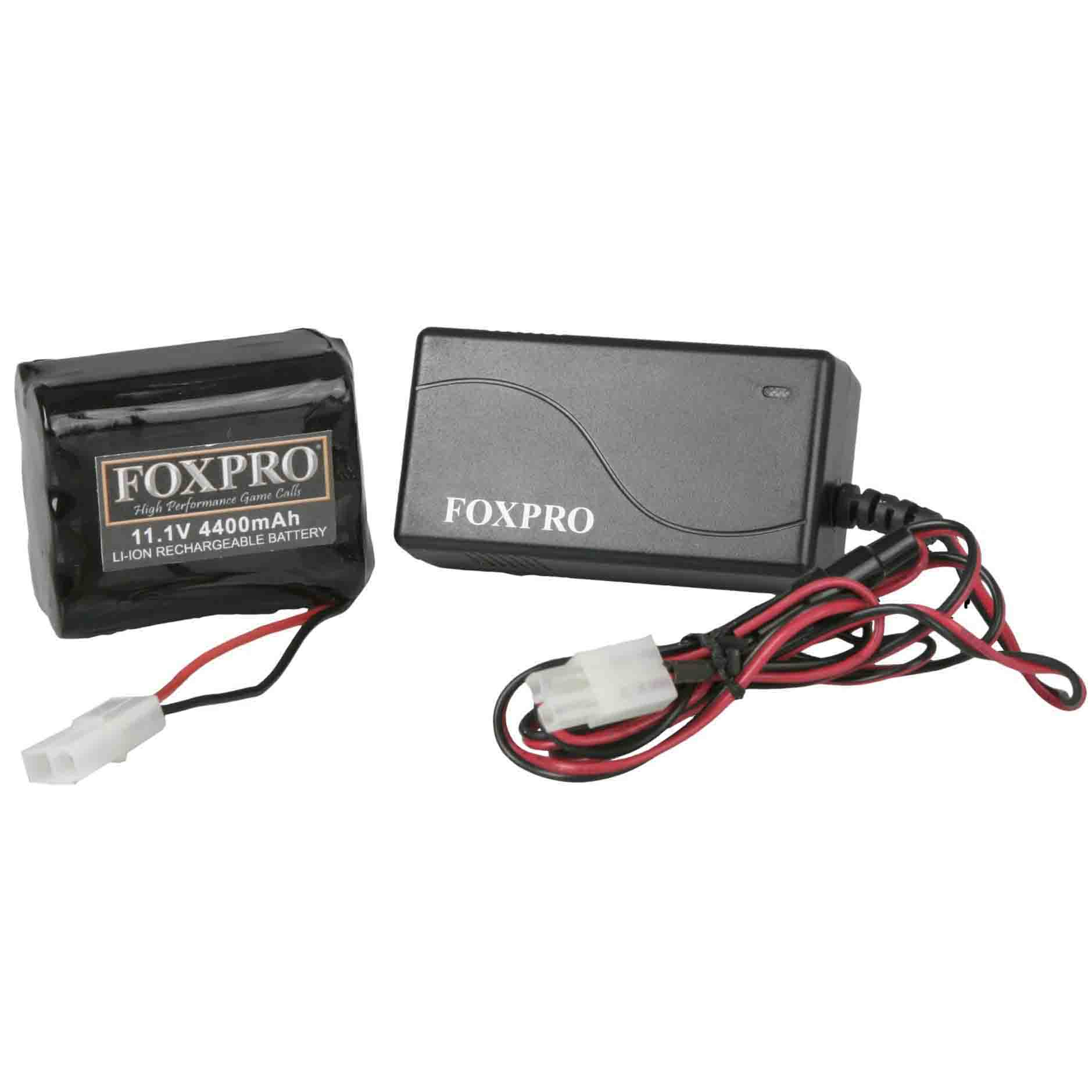 FoxPro Lithium Battery Pack & Charger
