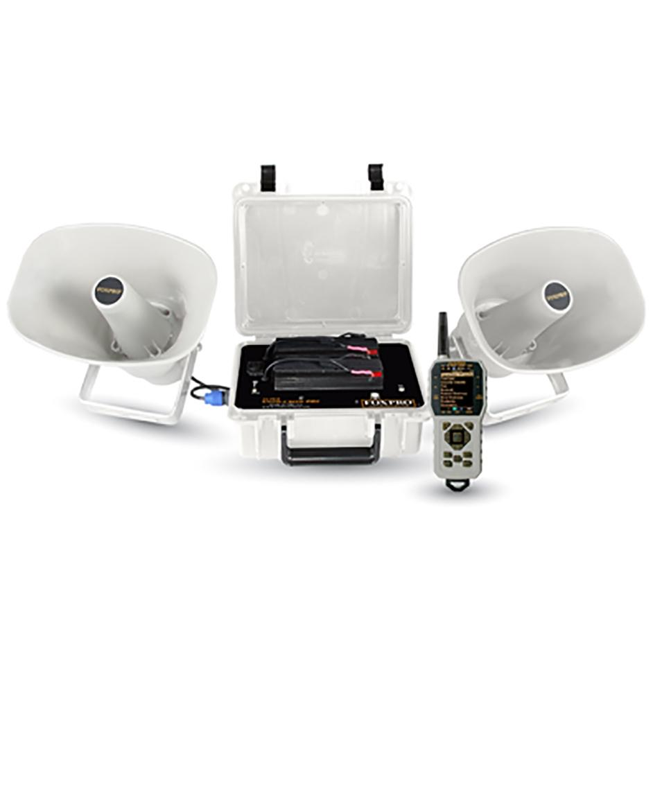FoxPro Super Snow Crow Pro Electronic Caller, White