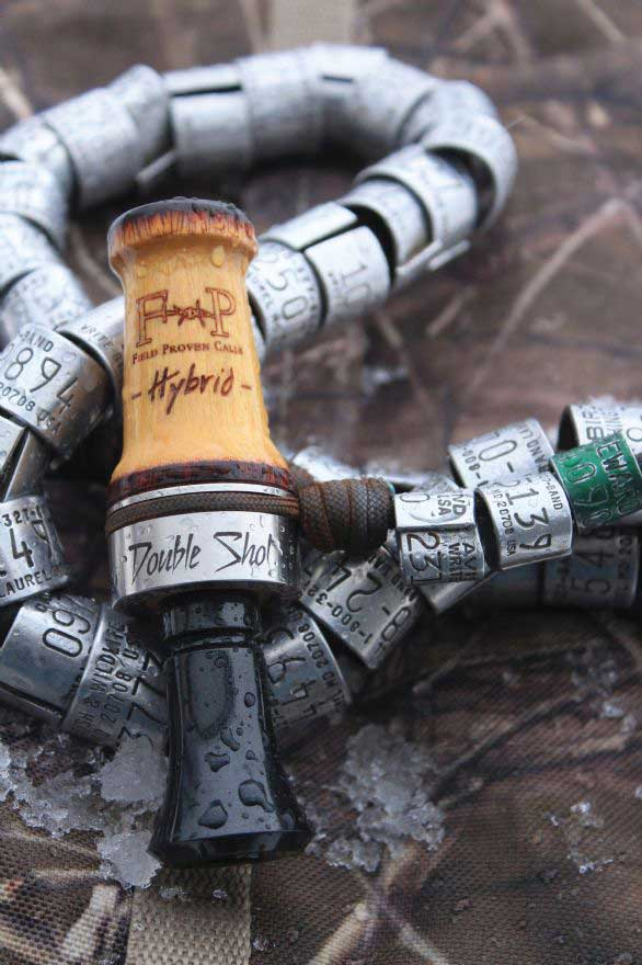 Field Proven Calls Hybrid Double Shot Duck Call