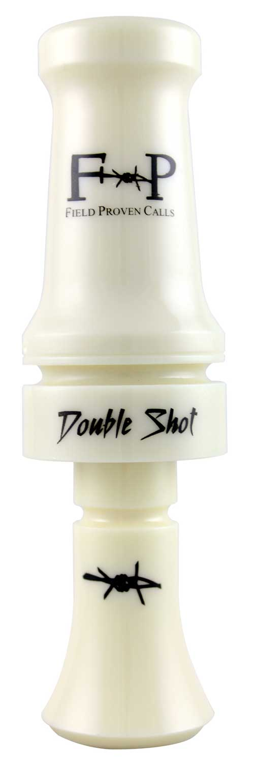 Field Proven Calls Double Shot Poly Duck Call - Ivory_1.jpg