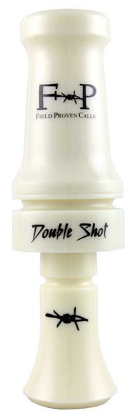 Field Proven Calls Double Shot Poly Duck Call - Ivory