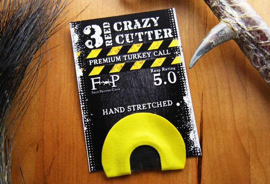 Field Proven Calls Crazy Cutter 3 Reed