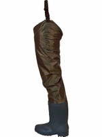 Frogg Toggs Rana II PVC Rubber Hip Boots, Brown