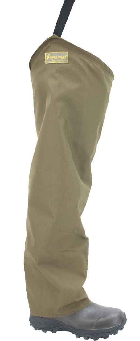 Frogg Toggs-Brush Hogg Heavy-Duty Nylon Hip Wader - Brown