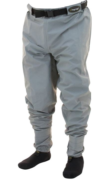 Frogg Toggs Hellbender Stockingfoot Breathable Guide Pant - Clay/Slate_1.jpg