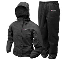 Frogg Toggs Classic Pro Action Womens Rain Suit, Black