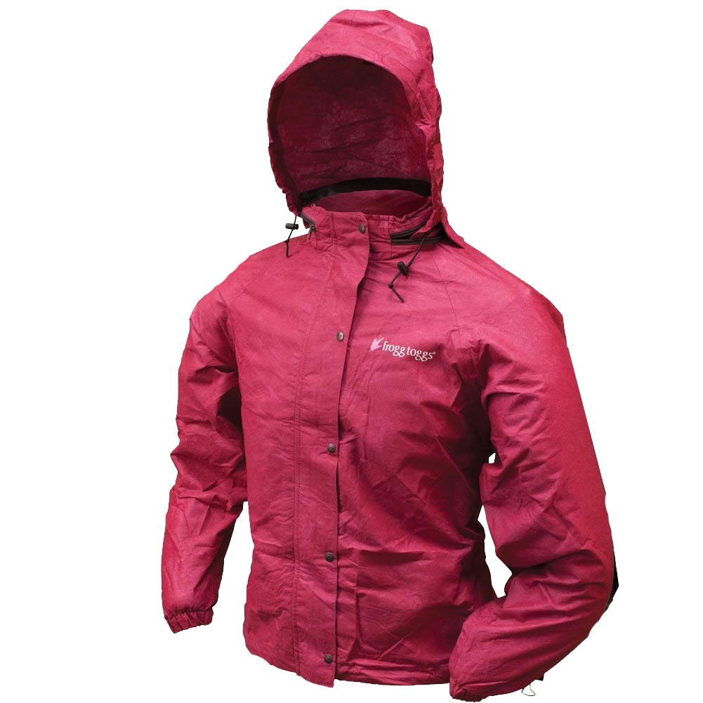 Frogg Toggs Womens All Sports Rain Suit, Cherry