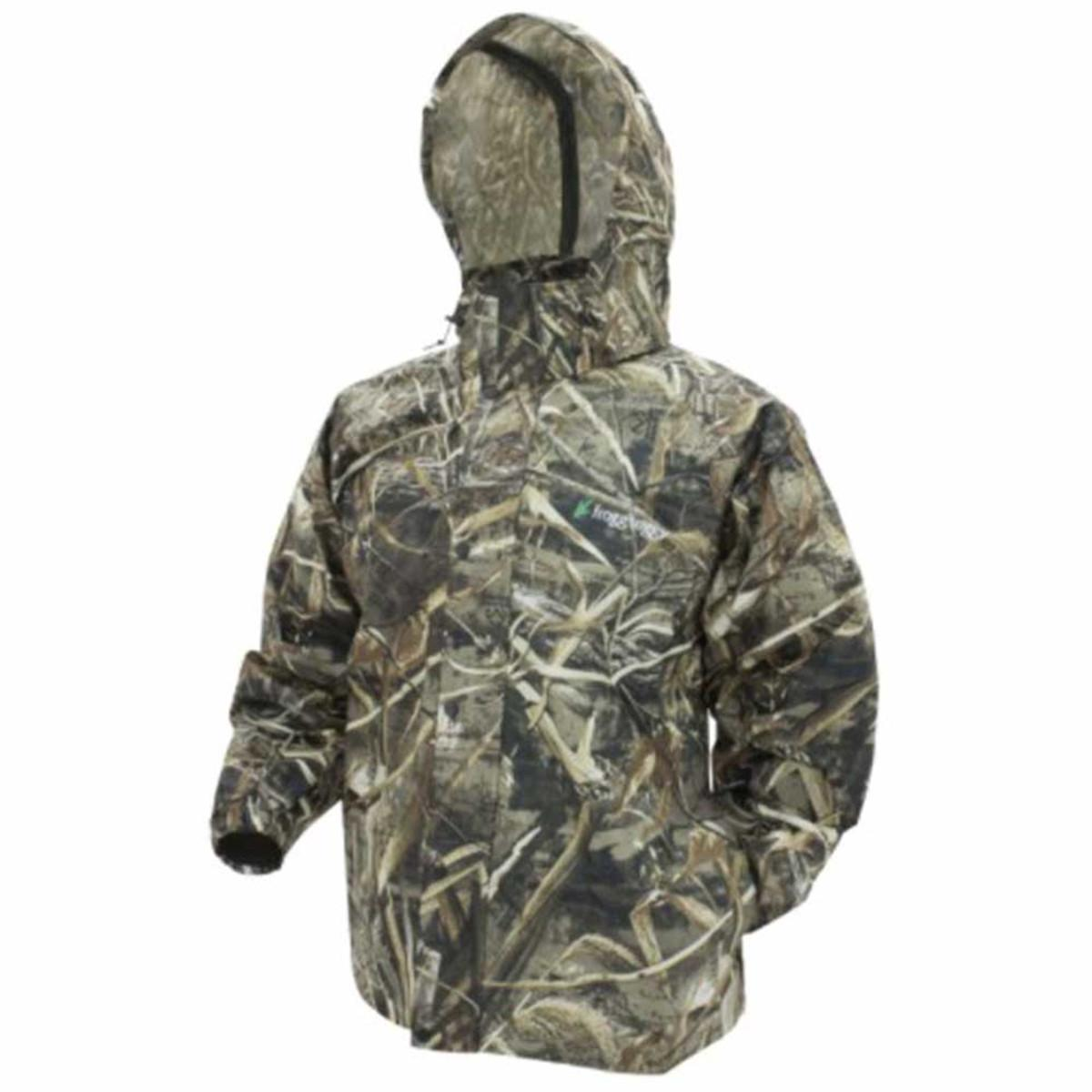 Frogg Toggs Pro Action Breathable Rain Jacket, Realtree Max 5