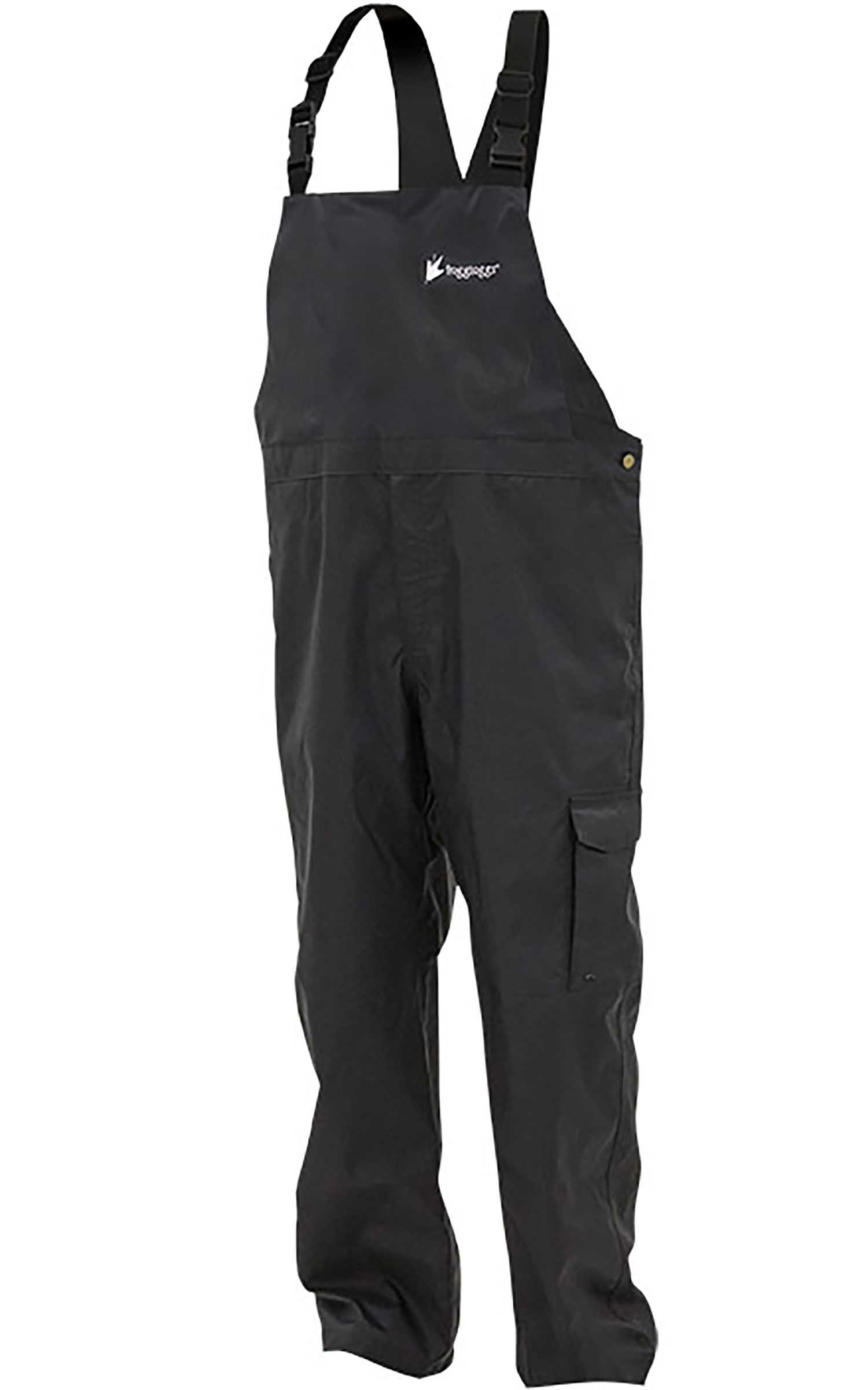 Frogg Toggs StormWatch Bib, Black