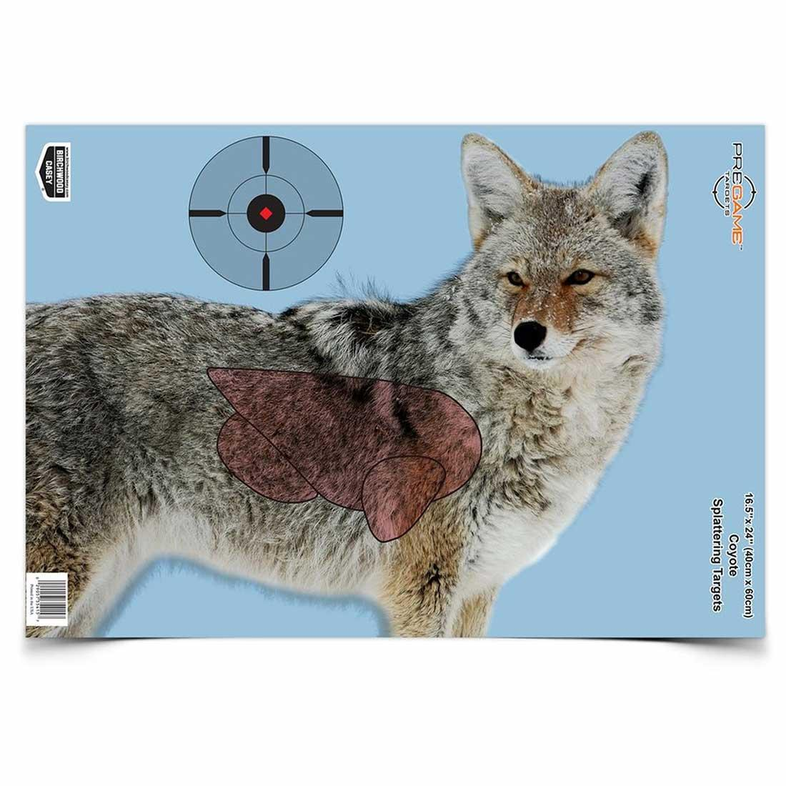 Birchwood Casey Pregame Coyote Paper Target - 3 Packs_1.jpg