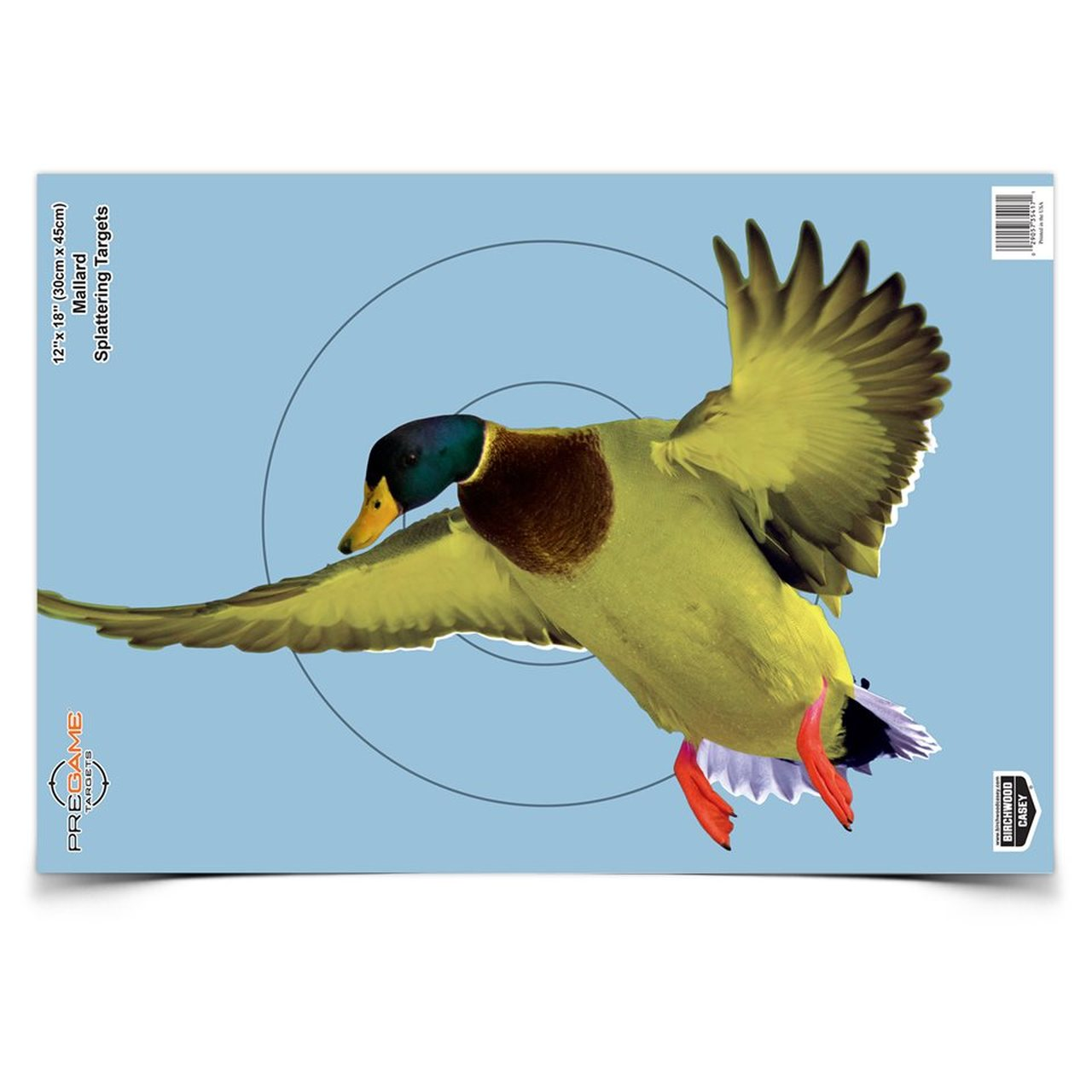 Birchwood Casey Pregame Duck Patterning Target - 8 Pack_1.jpg