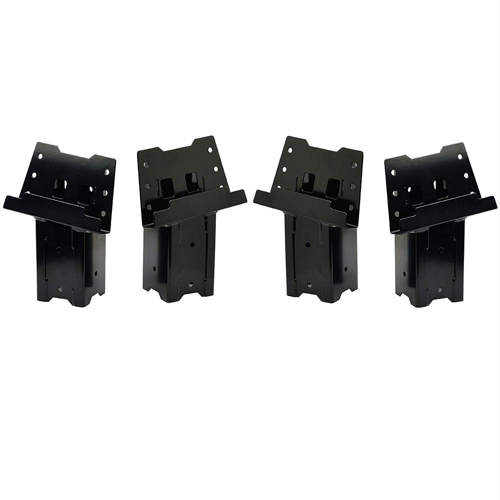 HME Steel 4x4 Blind Post Brackets