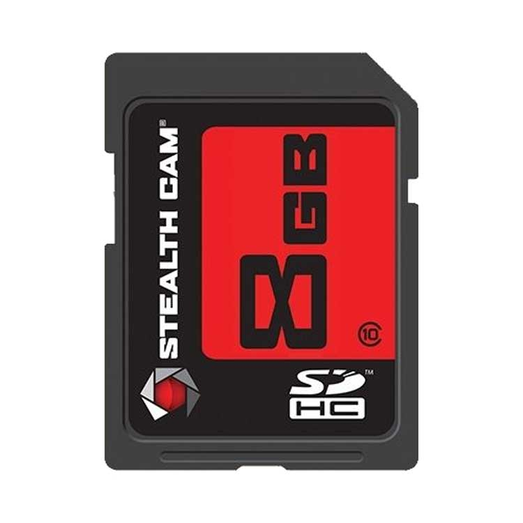 8GB Stealth Cam SD Memory Card