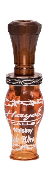 Hayes Whiskey Bob Wire Series Poly Duck Call