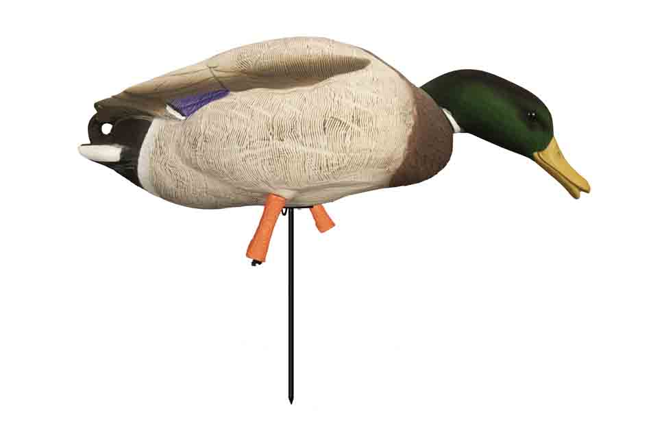 Higdon Decoys Magnum Full-Body Mallard, Variety 6 Pack with Flocked Heads and Free Bag_3.jpg