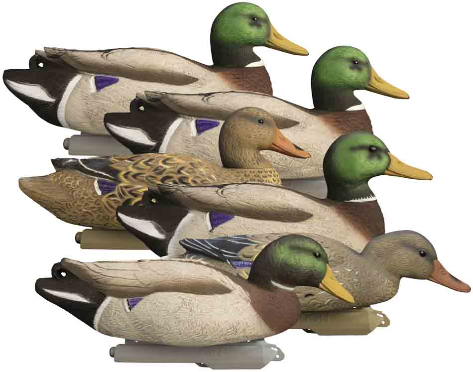 Higdon Battleship Super Magnum Foam Filled Mallard Floaters, 6 Pack_1.jpg