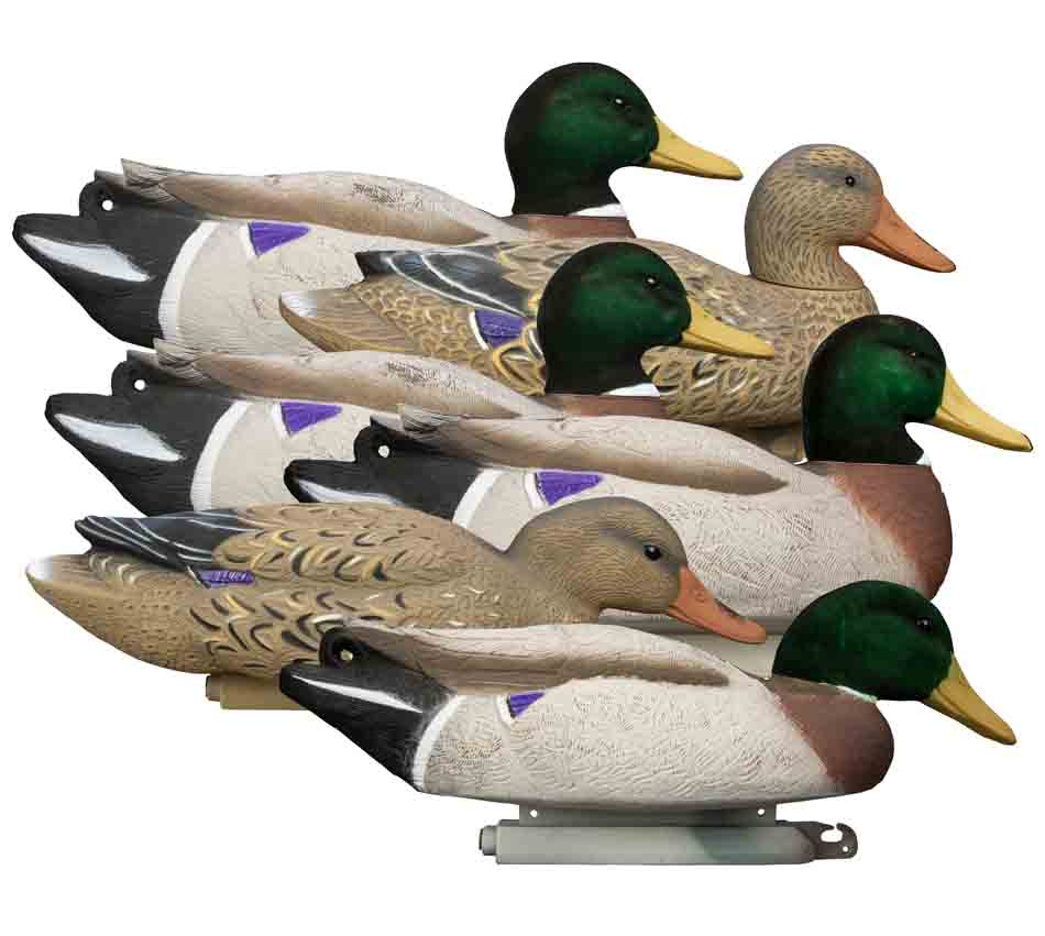 Higdon Outdoors Battleship Foam Filled Mallards, 6 Pack_1.jpg