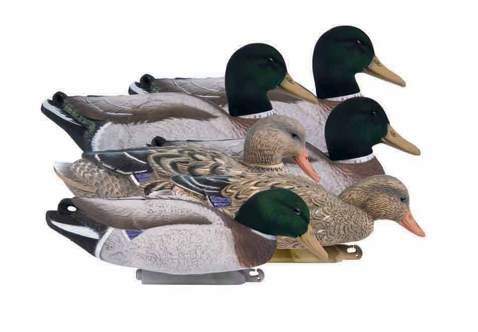 Higdon Decoys Magnum Mallard Foam Filled, Flocked Heads - 6 Pack_1.jpg